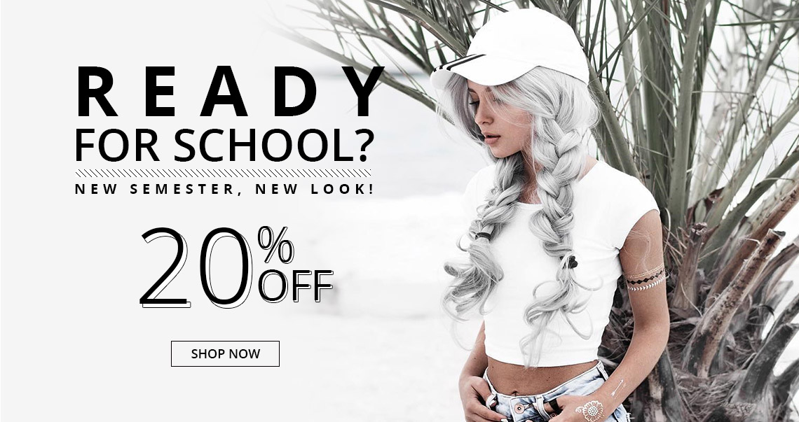 Ready for School? 20% off