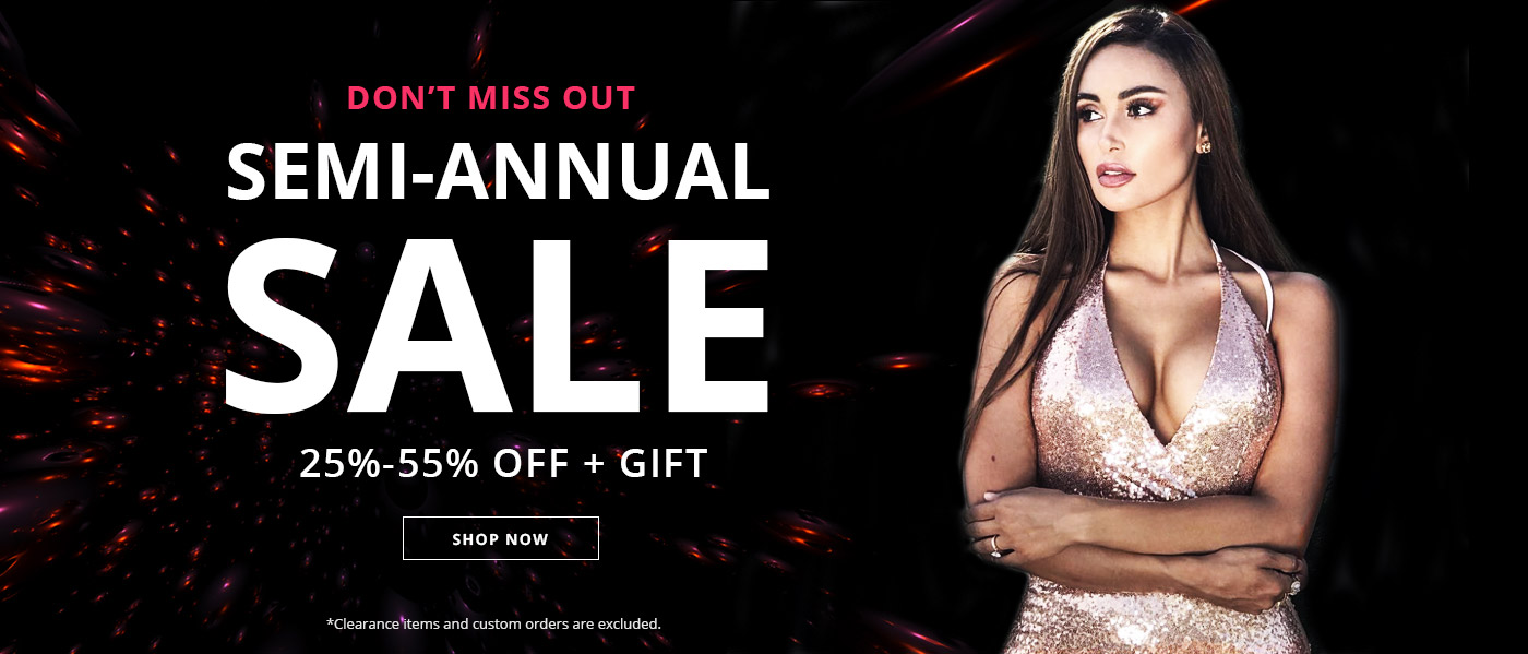 SEMI-ANNUAL MEGA SALE