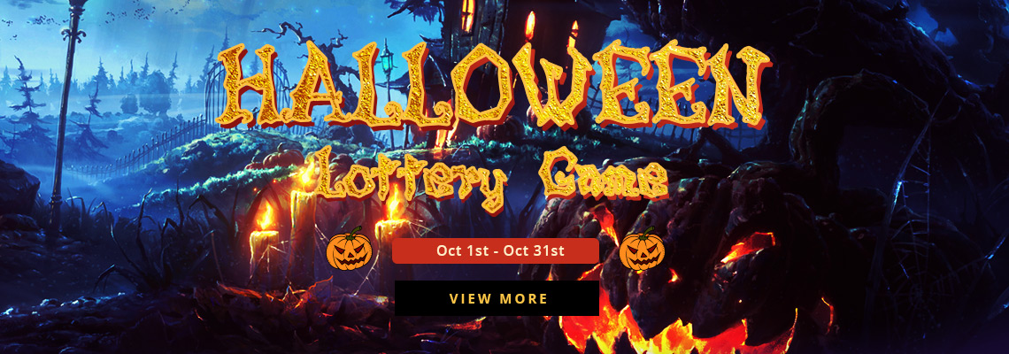 Halloween Lottery Game