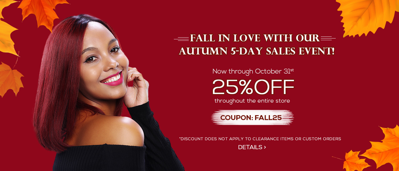 Fall in Love with our Autumn 5-day Sales Event!
