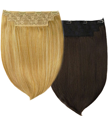 Rachael 2-in-1 Halo Synthetic Hair Extensions