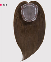 Emily Virgin Remy Human Hair Mono Topper