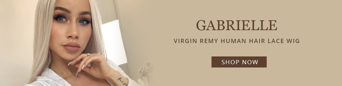 Gabrielle - Virgin Remy Human Hair Lace Wig