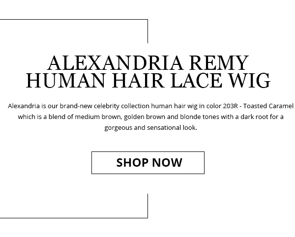 Alexandria Remy Human Hair Lace Wi