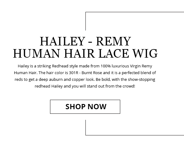 Hailey - Remy Human Hair Lace Wigg