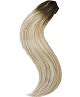 Violet 10 Pieces Clip-in Superior Remy Human Hair Extensions