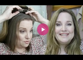 How to Put On & Style UniWigs Melanie Human Hair Topper
